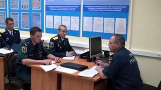 Молодые офицеры МЧС в Петрозаводске