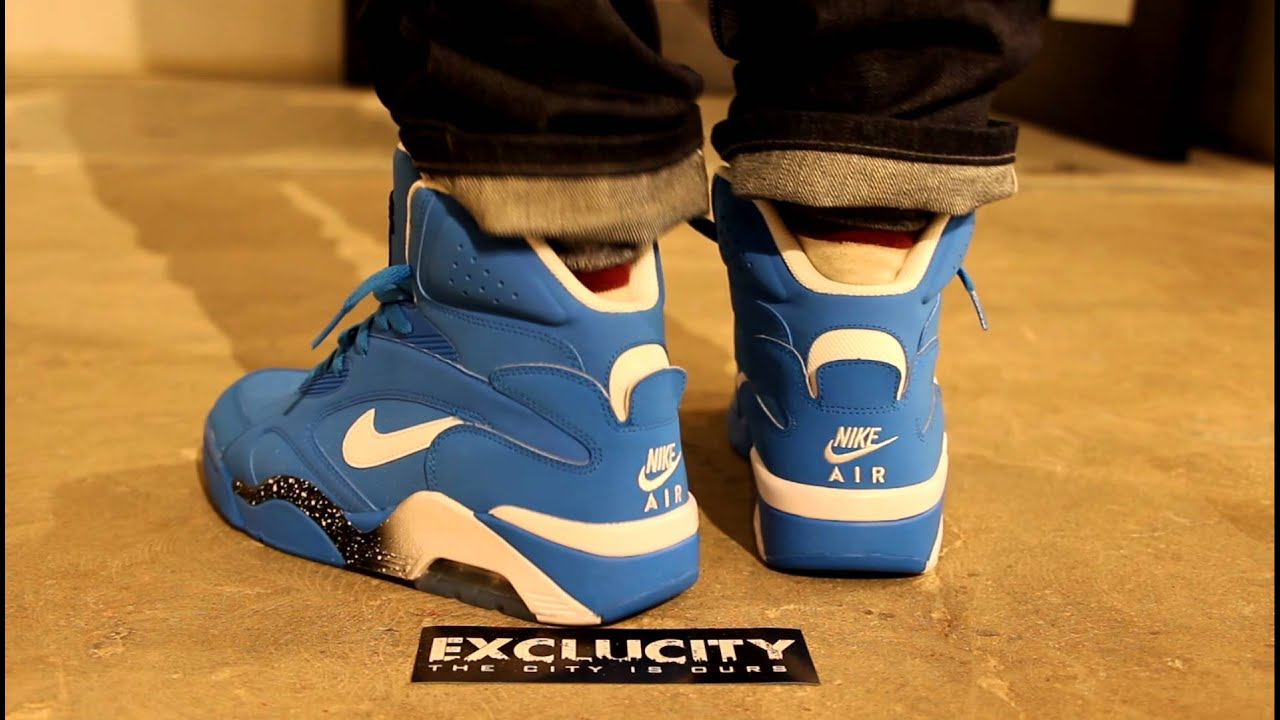 AIR FORCE 180 MID PHOTO BLUE ON FEET EDITION @ EXCLUCITY