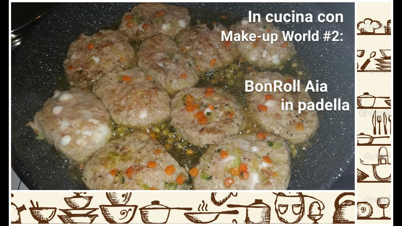 🌸🐼 in cucina con make-up world #2: bonroll aia 🐼🌸 - youtube - Come Cucinare Bon Roll Aia