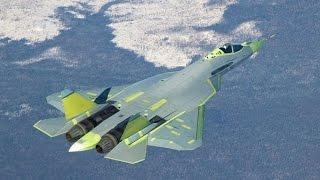 Т-50.Фронтовая авиация России