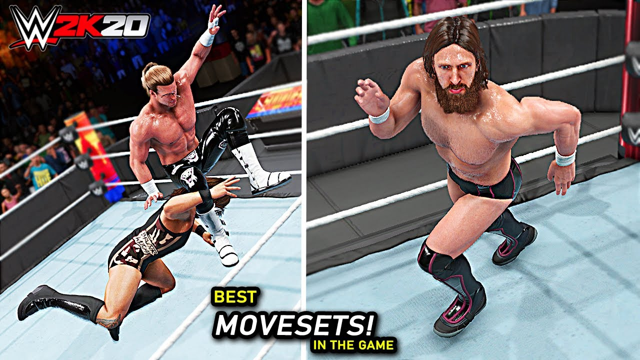WWE 2K20 Top 10 Best Movesets In The Game!! Part 3
