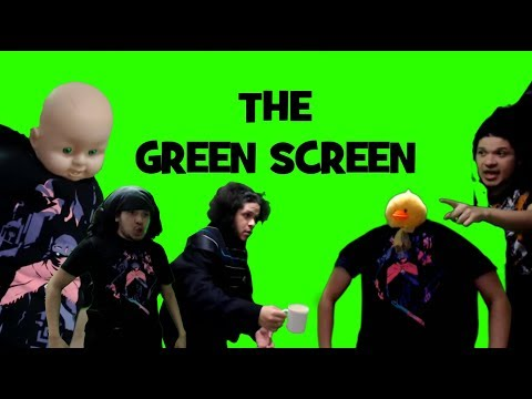 Pelo Does - The Green Screen
