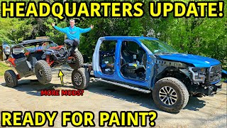 Rebuilding A Wrecked 2019 Ford Raptor Part 9