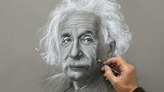 Drawing Albert Einstein