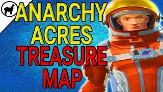 Anarchy Acres Treasure Map Location | Battle Pass Week 5 Challenges | Fortnite Battle Royale