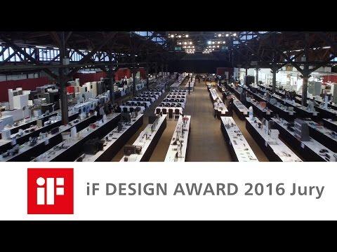iF DESIGN AWARD 2016 Jury