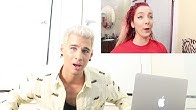 HAIRDRESSER REACTS TO JENNA MARBLES MESS UP HER HAIR FOR 11 MINUTES STRAIGHT PT. 1 | bradmondo