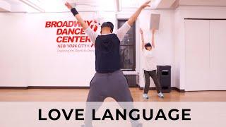 "Q Choreo | Ariana Grande - ""Love Language"""
