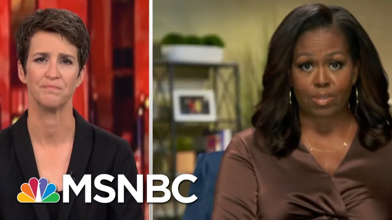 Maddow On Michelle Obama At The DNC: 'Just A Riveting Speech' | Rachel Maddow | MSNBC