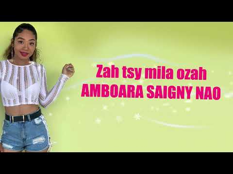 Wendy Cathalina - Tsy Amiako [Lyrics Video]