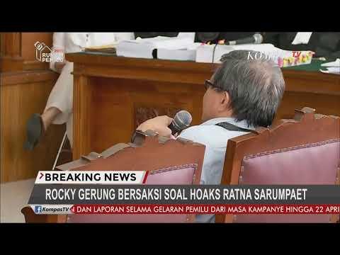 Sidang Ratna, Rocky Gerung dan Tompi jadi Saksi - Breaking News