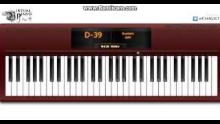 Virtual Piano : Imagine Dragons : Demons