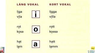 اللفظ - النبرة 1 - من كتاب Mål1 - تعلم اللغة السويدية - Uttal - Betoning