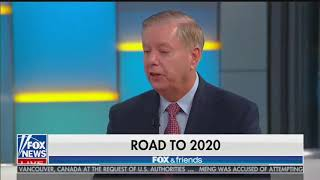 Lindsey Graham Backs Trump's Racist Tweets on 'Fox  Friends'