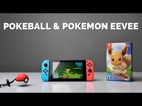Chơi thử Pokemon Eevee trên Switch bằng Pokeball (20 phút)