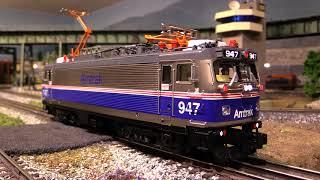 Download lagu MTH Amtrak AEM-7