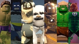ALL Big Figs in Lego Videogames