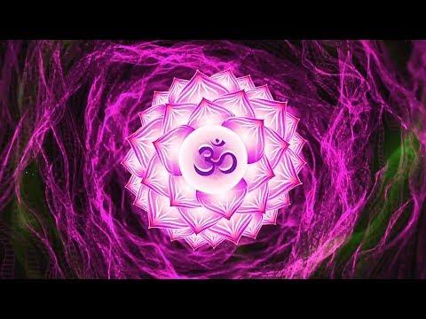 OPEN CROWN CHAKRA ⁂ AWAKEN KUNDALINI ⁂ Seed Mantra AH Chanting Meditation Music