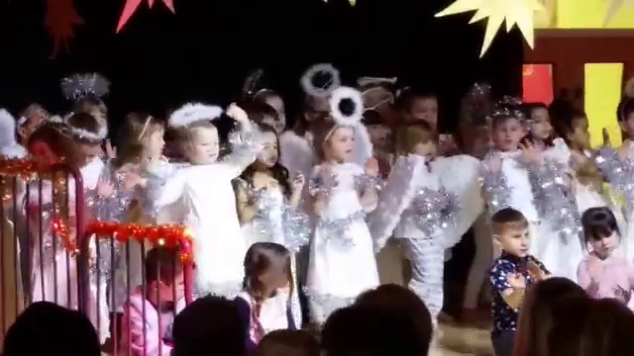 Nativity - Christmas Song Tonight - Children's Nativity play - Angels singing - YouTube