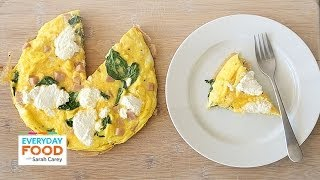 Breakfast Frittata With Ham - Everyday Food With Sarah Carey