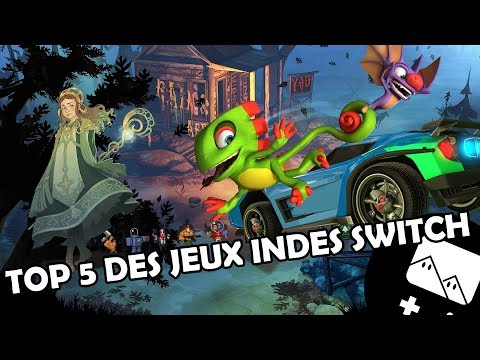 Top 5 Switch Indie Games Youtube