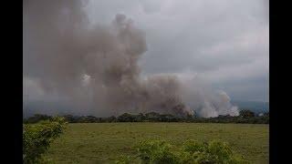 Socorristas huyen Nueva Erupción del volcán de Fuego Guatemala Todos en marcha para Ayudar