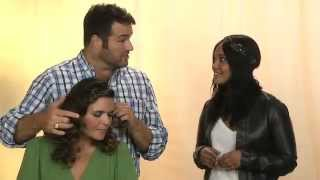Celebrity stylist interview with Dean Banowetz and actress Candy Washington