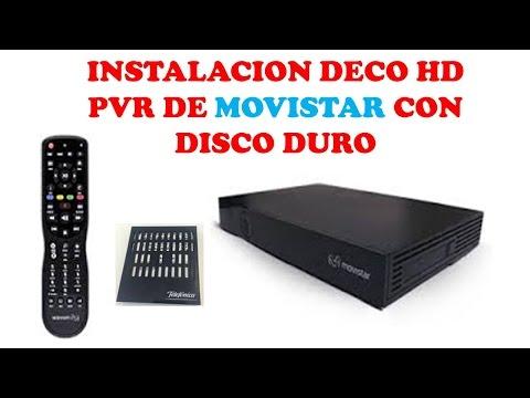 INSTALACION DE DECO HD PVR CON DISCO DURO-CURSO DE TELEVISION POR CABLE
