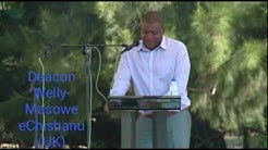 Deacon Wellington  Masowe echishanu UK in Zimbabwe