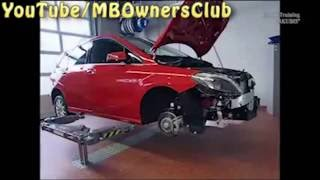 Mercedes Benz - Engine removal (B Class)(0,5,Engine removal.||| 5,9,Preparation: Remove front module.||| 10,14,Space is needed in the engine compartment.||| 16,20,Remove engine hood and support., 2016-07-30T21:56:01.000Z)