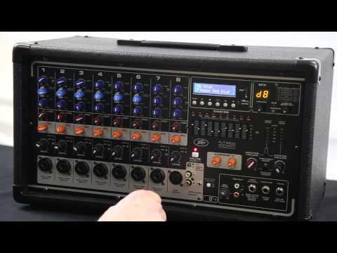 Peavey Pvi Series Powered Live Sound Mixer w/ Bluetooth   AudioSavings.com