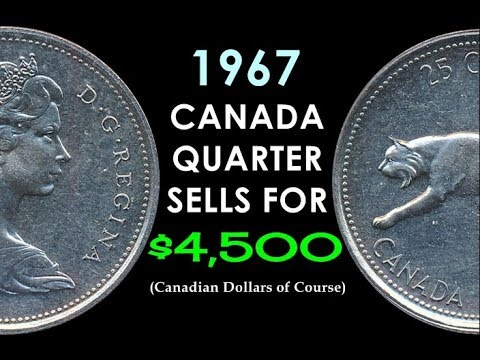Unexpected! - Plentiful 1967 Canada Quarter Sold For $4,500! - What's The Catch??