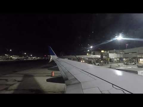Full Flight | United Airlines 737-800 Los Angeles to Houston
