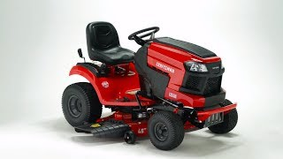 CRAFTSMAN T240 22-HP V-twin Hydrostatic 46-in Riding Lawn Mower