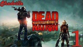 Dead Nation: Apocalypse Edition (PS4) Прохождение игры #1: Зомби повсюду