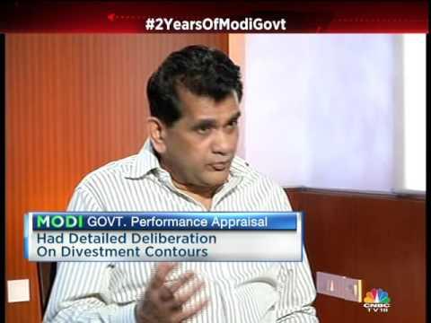 Amitabh Kant's 1st Interview As NITI Aayog CEO- Segment 1
