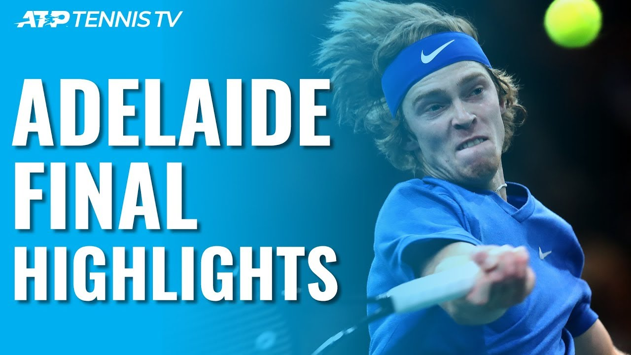 Rublev Beats Harris to claim Adelaide Title | Adelaide 2020 Final Highlights