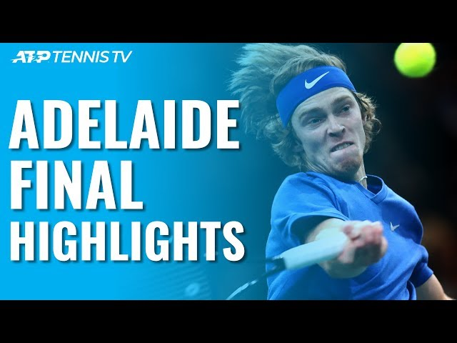 Rublev Beats Harris To Claim Adelaide Title   Adelaide 2020 Final Highlights
