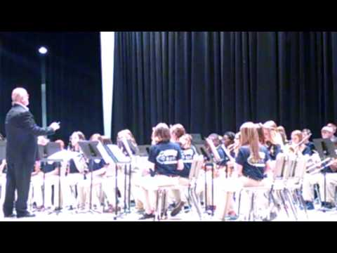 Alexis Flint spring concert Semmes Middle School 6th grade band(3)
