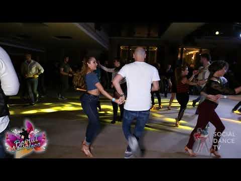 Maroun Adolph & Tegan - Salsa social dancing   Beirut Salsa Loca 2018