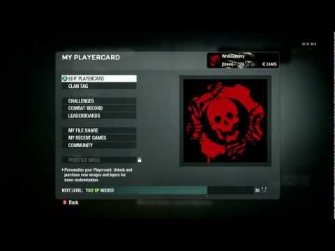 Black Ops Emblem Tutorials Gears Of War Cog Logo Youtube