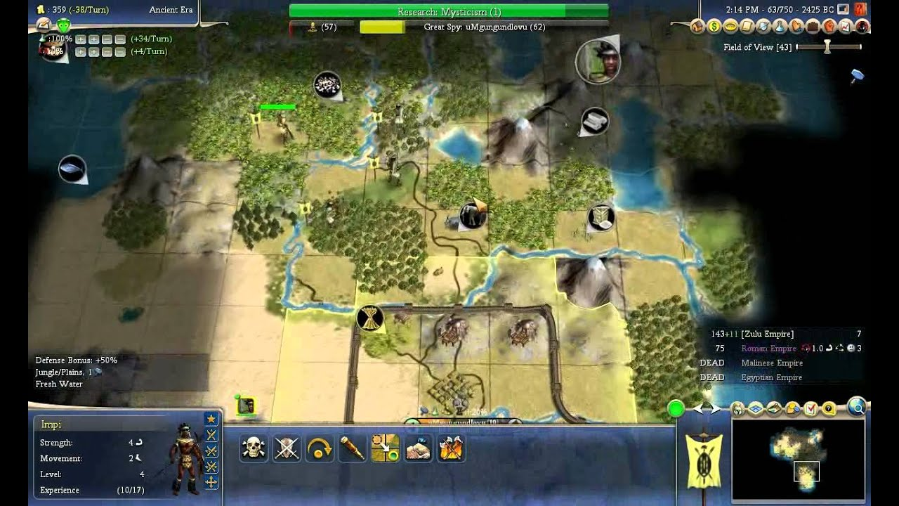 Civ 4 Earth Map.Civ 4 Earth Challenge Part 1 Of 9 Youtube