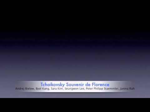 Andrej Bielow Tschaikovsky Souvenir de Florence op 70 live