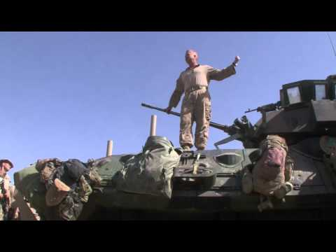 Marine commander's speech before attacking Taliban