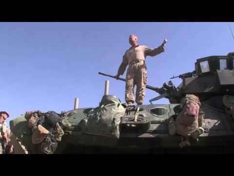Marine commander's speech before attacking Taliban