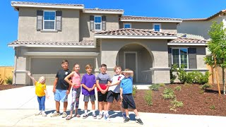 NEW HOUSE REVEAL (showing our kids!)