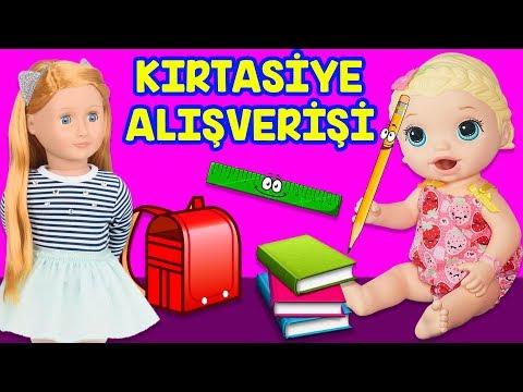 Oyuncak Bebekler Baby Alive Blonde Selin Aylin Okul Öncesi Kırtasiye Alışverişi | Back To School
