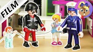 Film Playmobil en français | Voleur de jouets qui se fait terrasser par Hannah & Emma