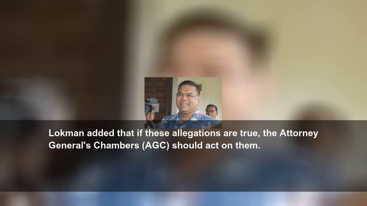 Umno's Lokman lodges report over gay sex clips allegedly involving Pakatan politician