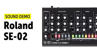 Roland SE-02 Sound Demo (no talking)